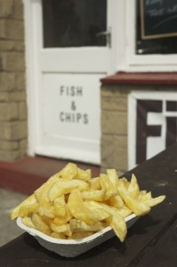Fish and Chips from any of the various chippy's