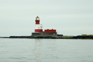 The Longstone Lighthouse on the Farne Islands