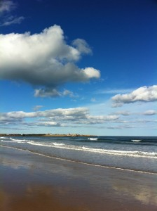 Beadnell Bay, April 2011